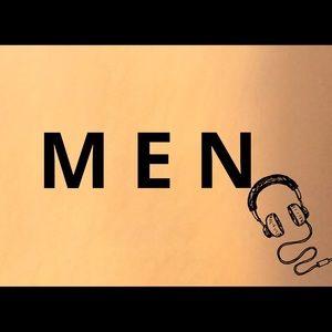 Men clothes section ad